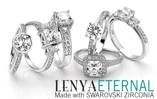 made with SWAROVSKI ZIRCONIA